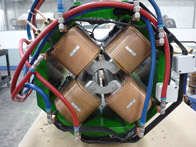 water-cooled quadrupole magnet